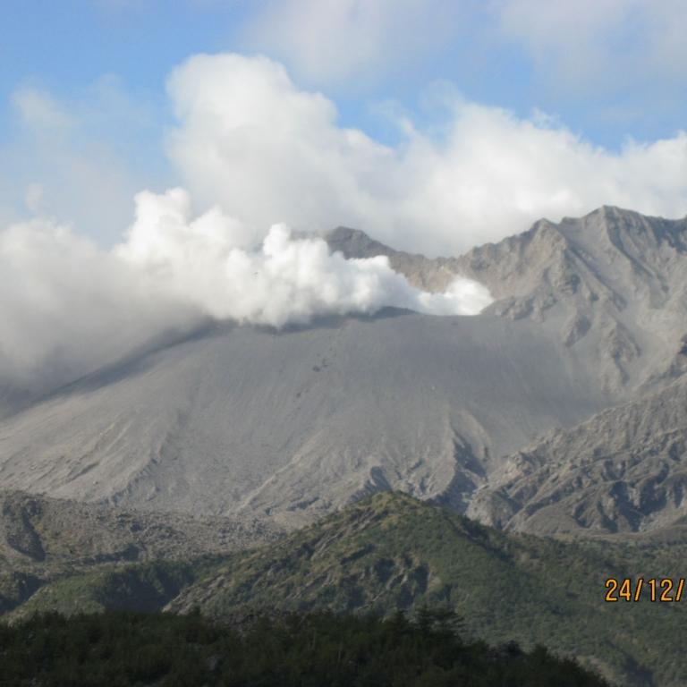 Извержения на СакураДзима происходят ежедневно; Кагосима