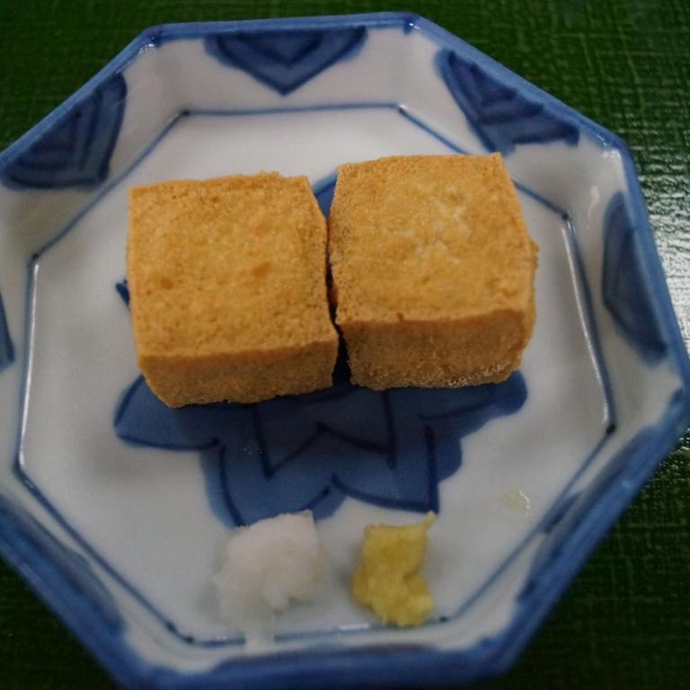 Жареный тофу; Токио