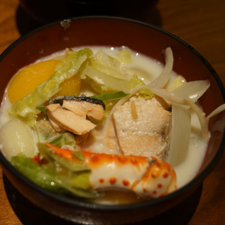 Насыщенный рыбный суп; Хоккайдо