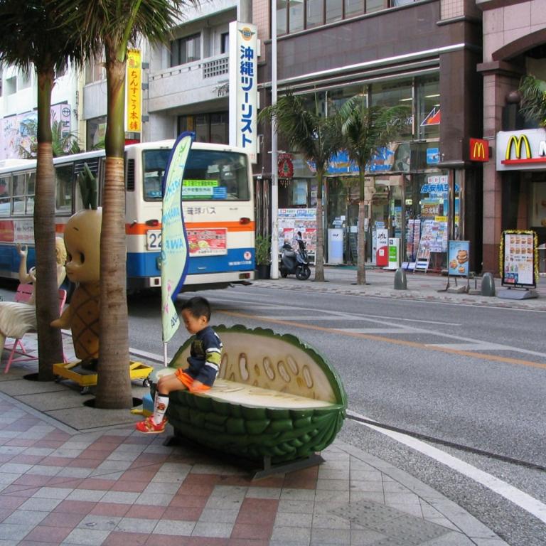 КокусайДоори - центральная улица г.Наха; Окинава