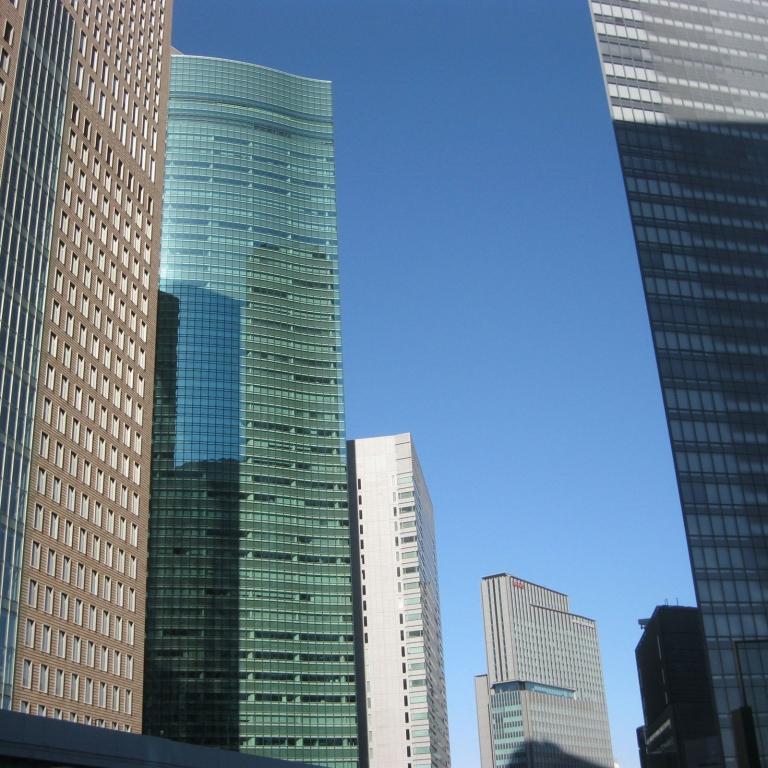 Новый облик столицы - Сиодомэ; Токио