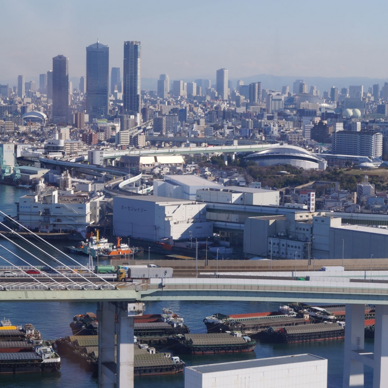 Вертикальный город; Осака