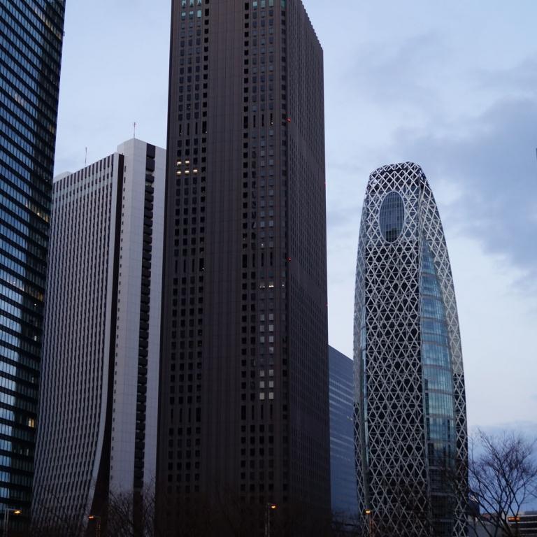 Небоскребы НисиСиндзюку; Токио
