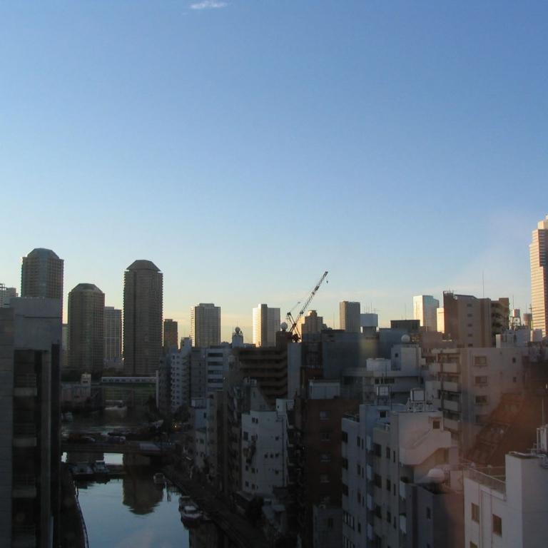 Мегаполис просыпается; Токио