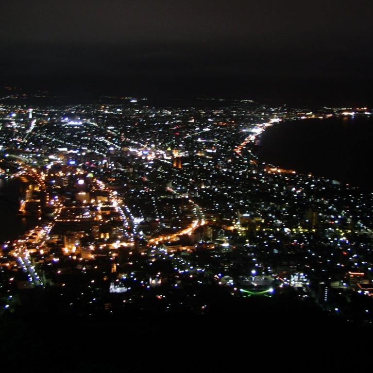 Ночной Хакодатэ; Хоккайдо