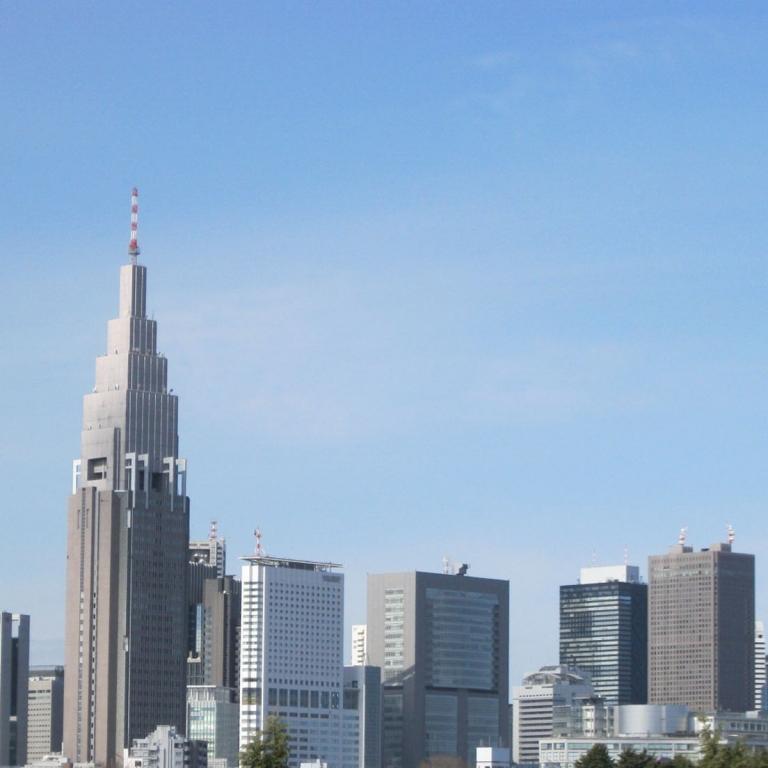 Высотные здания Ёёги и Синдзюку; Токио