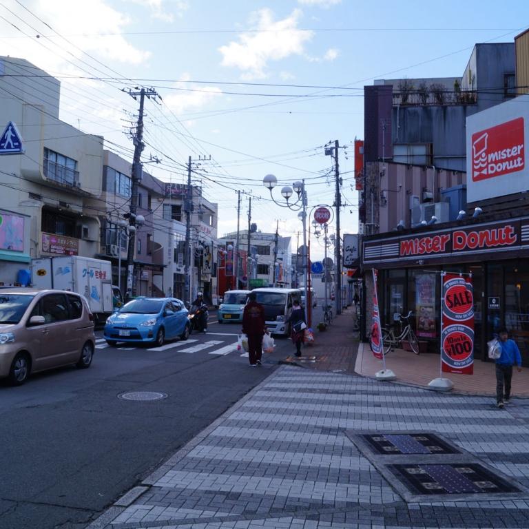 Зарисовка из жизни небольшого города, Мисима; Сидзуока