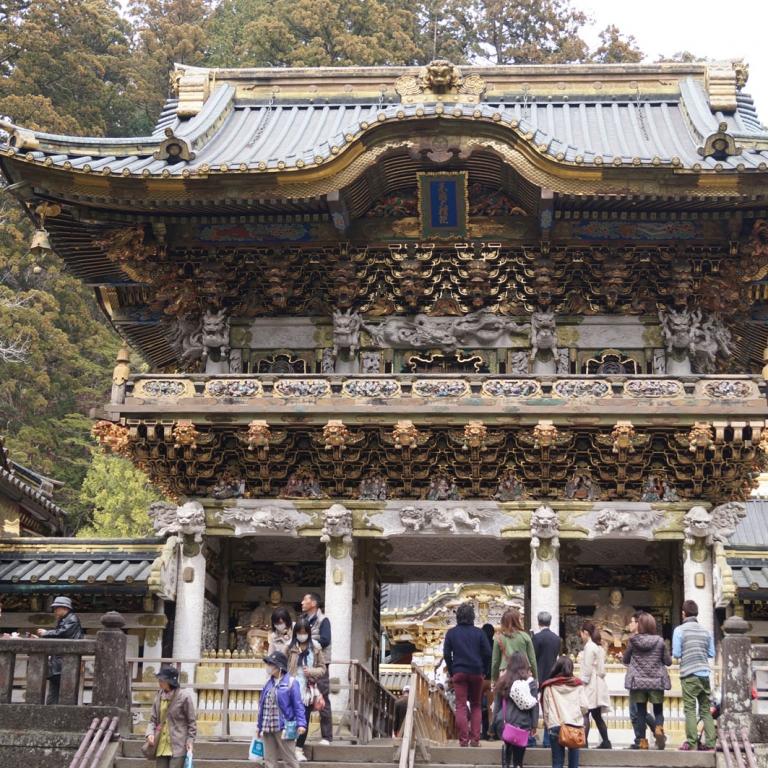 Самая зрелищная синтоистская святыня - Никко Тосэгу; Тотиги