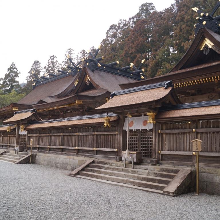 Архитектурное совершенство Кумано Хонгу Тайся; Вакаяма