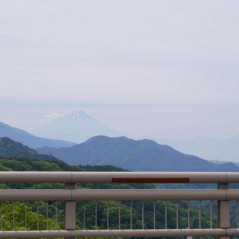 С Моста Яцугатакэ 28-ого регионального шоссе; Яманаси