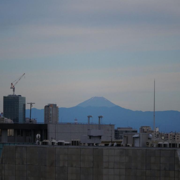 Из окна городской гостиницы; Токио