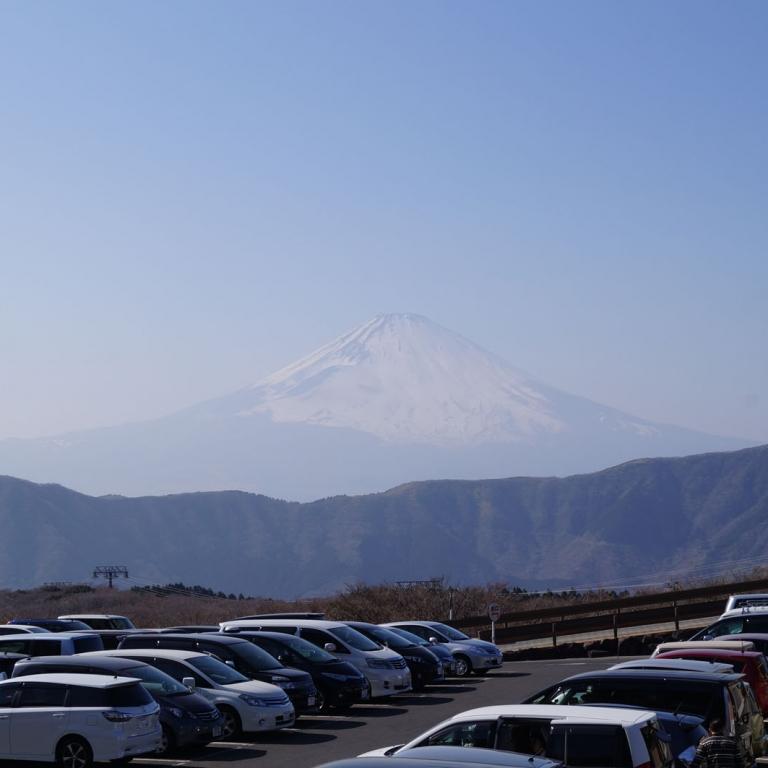 С автостоянки Кипящей долины ОоВакуДани; Канагава