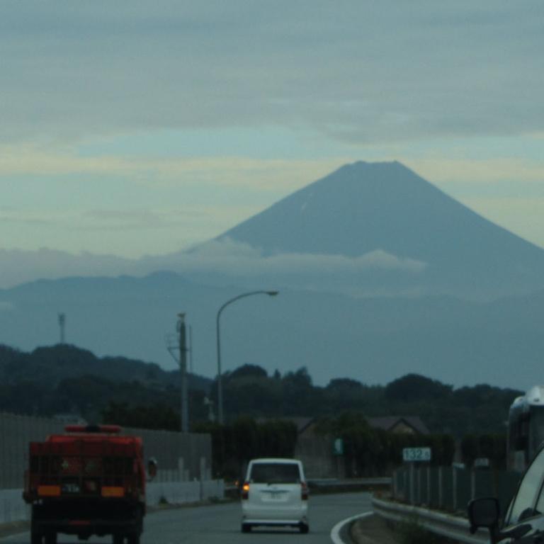 Из машины, на скоростном шоссе Тюо; Нагано