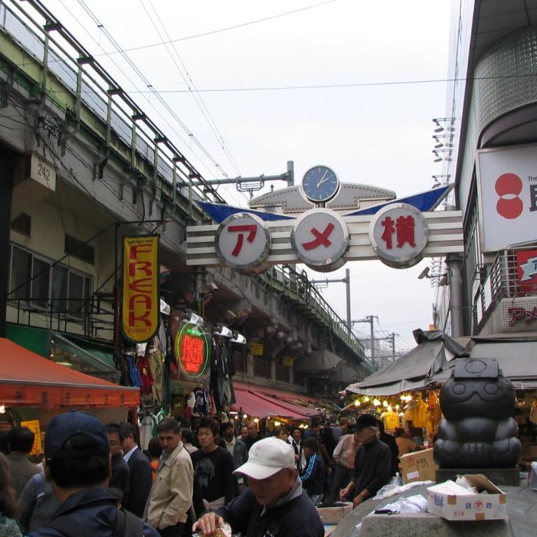Магазины и рынки