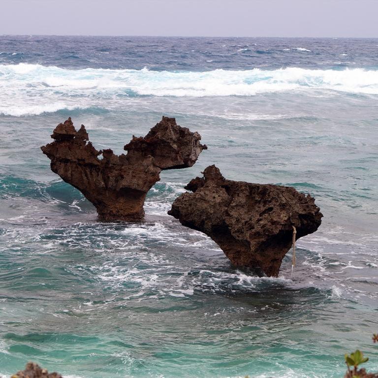 Острова и скалы